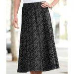Animal Jacquard Skirt