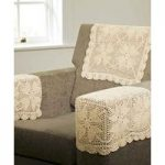 Pair of Lace Chair Protectors