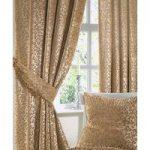 Velvet Scroll Curtains