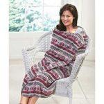Aztec Design Fleece
