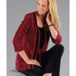 2-in-1 Pleated Blouse