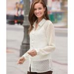 Pleat Blouse with Cami