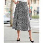 Graphic Jacquard Skirt