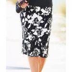 Printed Milano Skirt