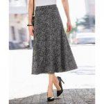 Knitted Jacquard Skirt