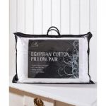 Pair of Egyptian Cotton Pillows