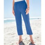 Jersey Cropped Trousers