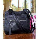Patchwork Tassle Bag