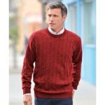 Cable Round Neck Sweater