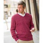 Long Sleeved V-neck Sweater