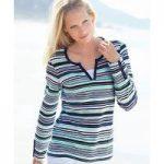 2-in-1 Stripe Sweatshirt