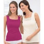 Pack of 2 Sleeveless Thermal Vests