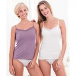 Pack of 2 Thermal Camisoles