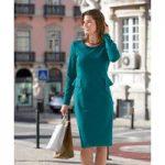 Peplum Milano Dress