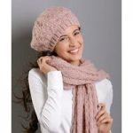 Scarf, Gloves and Beret Set
